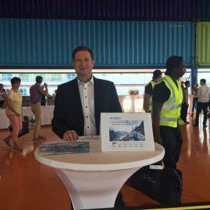 Check In Schiffsbesichtigung durchgeführt von atiworld.de Michael Seibert auf der MS Europa 2 in Hamburg am 29.07.2018 in Hamburg