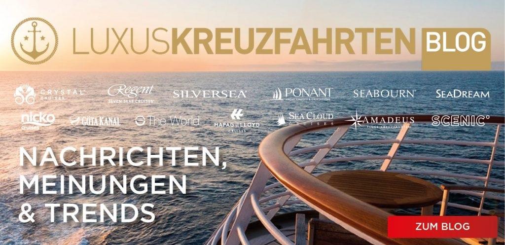 Luxuskreuzfahrten Blog von michael seibert